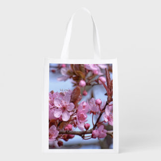 Sacola Ecológica Flor de cerejeira Ásia