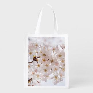 Sacola Ecológica Flor de cerejeira de Japão