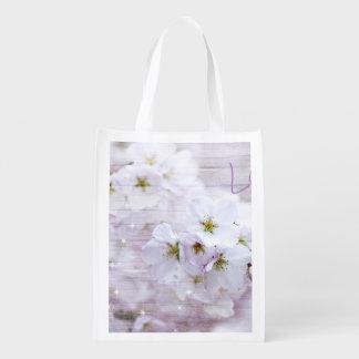 Sacola Ecológica Flor de cerejeira de Sakura
