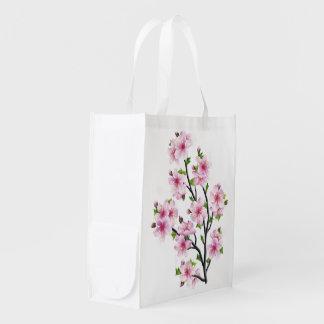 Sacola Ecológica Flores de cerejeira 4