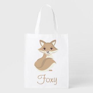 Sacola Ecológica Fox Foxy de Brown