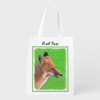 Sacola Ecológica Fox vermelho