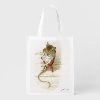 Sacola Ecológica Jornal da leitura do rato