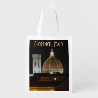 Sacola Ecológica Locais de Italia em Florença Italia