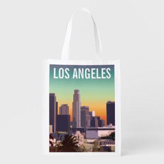 Sacola Ecológica Los Angeles do centro - imagem customizável