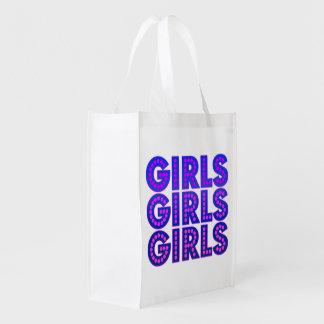Sacola Ecológica Meninas das meninas das meninas gráficas