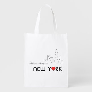 Sacola Ecológica New York, Manhattan, amor, legal