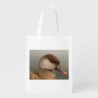 Sacola Ecológica Pato fêmea do larro, rufina do netta