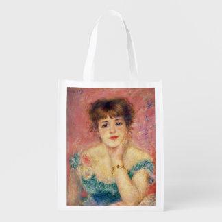 Sacola Ecológica Pierre um retrato de Renoir | de Jeanne Samary