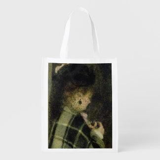 Sacola Ecológica Pierre uma jovem mulher de Renoir | com um véu