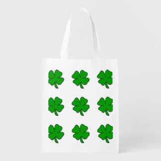 Sacola Ecológica Trevos irlandeses
