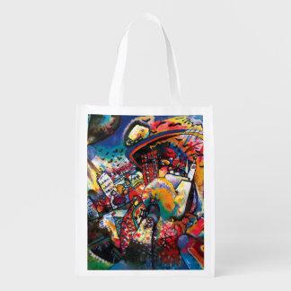 Sacola Ecológica Wassily Kandinsky - arte abstracta da arquitectura