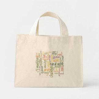 Sacola inspirador das palavras #2 bolsa tote mini