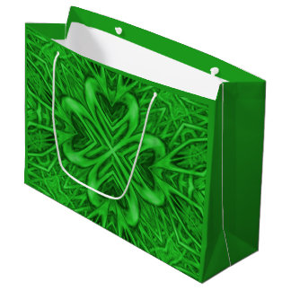 Sacola Para Presentes Grande As bolsas celtas do presente do caleidoscópio do