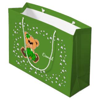 Sacola Para Presentes Grande As bolsas feitas sob encomenda do presente do dia