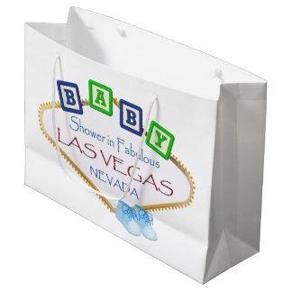Sacola Para Presentes Grande Chá do bebé no saco do presente de Las Vegas