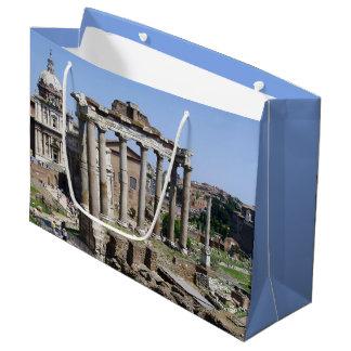 Sacola Para Presentes Grande Fórum romano
