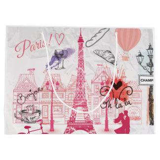 Sacola Para Presentes Grande Mágica de Paris