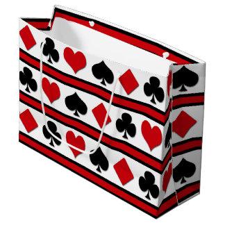 Sacola Para Presentes Grande Quatro ternos do cartão
