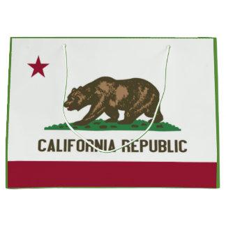 Sacola Para Presentes Grande Saco do presente da bandeira do estado de