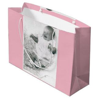 Sacola Para Presentes Grande Saco do presente do bebé