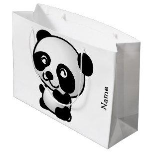 65562c369315de Sacolas para Presentes Pandas Engraçadas | Zazzle.pt