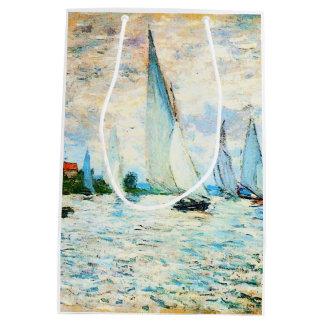 Sacola Para Presentes Média Monet-Regata de Claude em Argenteuil