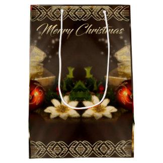Sacola Para Presentes Média Saco do presente do Natal