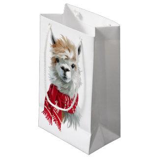 Sacola Para Presentes Pequena Alpaca