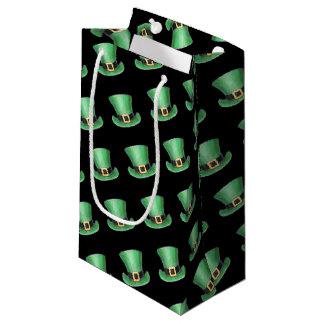 Sacola Para Presentes Pequena Chapéu alto do Dia de São Patrício