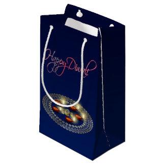 Sacola Para Presentes Pequena Diwali feliz Ganesha Rangoli - saco pequeno do