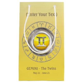 Sacola Para Presentes Pequena Gêmeos - o símbolo do horóscopo dos gêmeos
