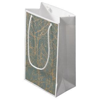 "Sacola Para Presentes Pequena Saco do presente da ""árvore"" da ardósia"