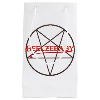 Sacola Para Presentes Pequena Saco do presente de Beelzebaby