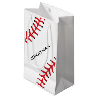 Sacola Para Presentes Pequena Saco do presente do design do softball do basebol