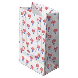 Sacola Para Presentes Pequena Saco lustroso pequeno do presente dos balões de ar
