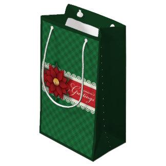 Sacola Para Presentes Pequena Saco pequeno do presente dos cumprimentos da