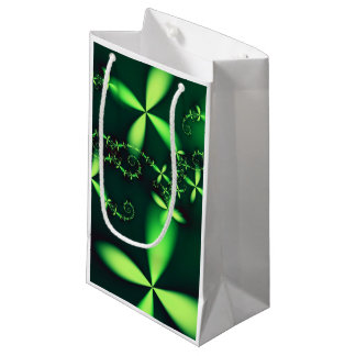 Sacola Para Presentes Pequena Saco verde afortunado