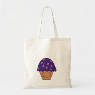 Sacola pequena feliz do cupcake bolsas para compras