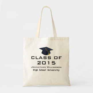 Sacola personalizada da sacola da graduação bolsa tote