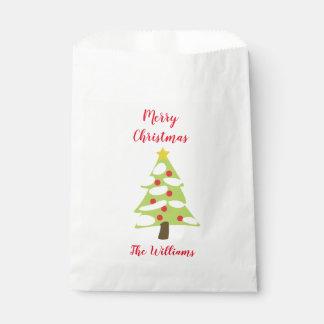 Sacolinha Árvore de Natal