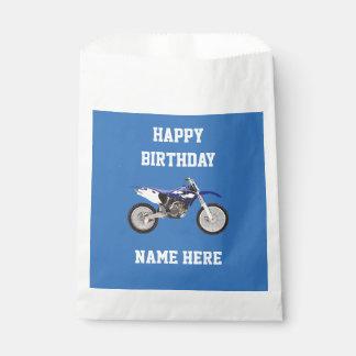 Sacolinha As bolsas azuis do favor do presente da festa de