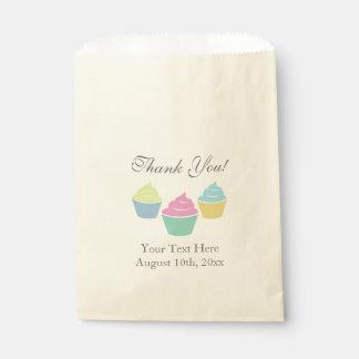 Sacolinha As bolsas coloridas do favor de partido do chá de