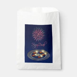 Sacolinha Diwali feliz Ganesha Rangoli - saco do favor