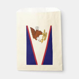 Sacolinha Favoreça o saco com a bandeira de Samoa