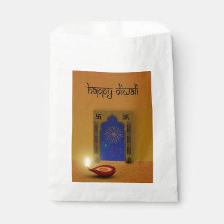 Sacolinha Fogos-de-artifício felizes festivos de Diwali -