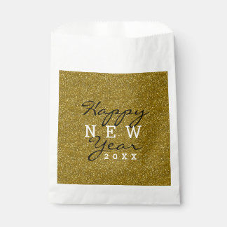 Sacolinha O feliz ano novo do brilho do ouro