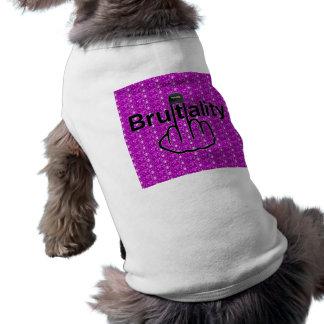Sacudir da brutalidade de polícia da roupa do cão camiseta
