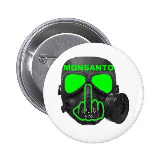 Sacudir da máscara de gás de Monsanto do botão Bóton Redondo 5.08cm