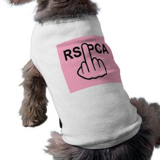 Sacudir da roupa RSPCA do cão Camiseta
